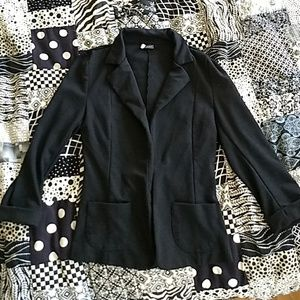 Urban Outfitters Knit Black Blazer, Size XS